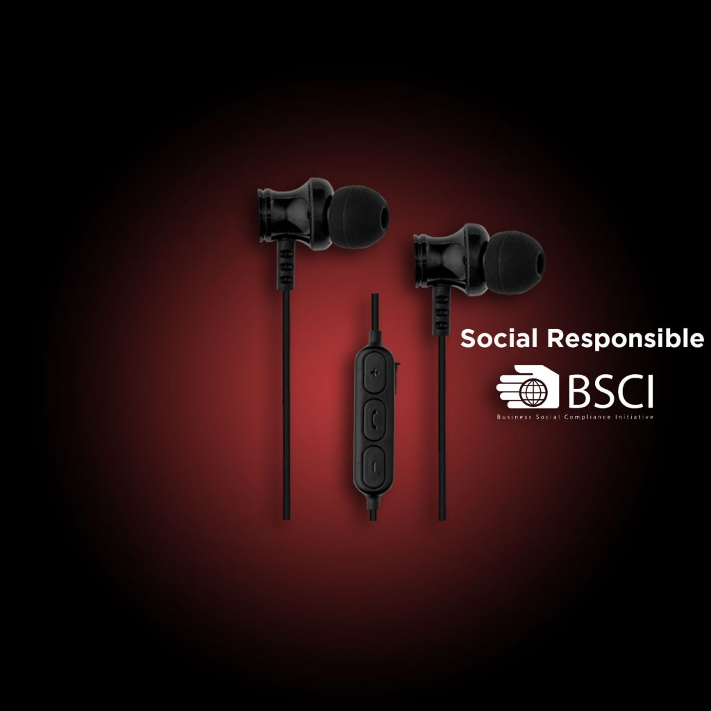 bluetooth in-ear headphones black