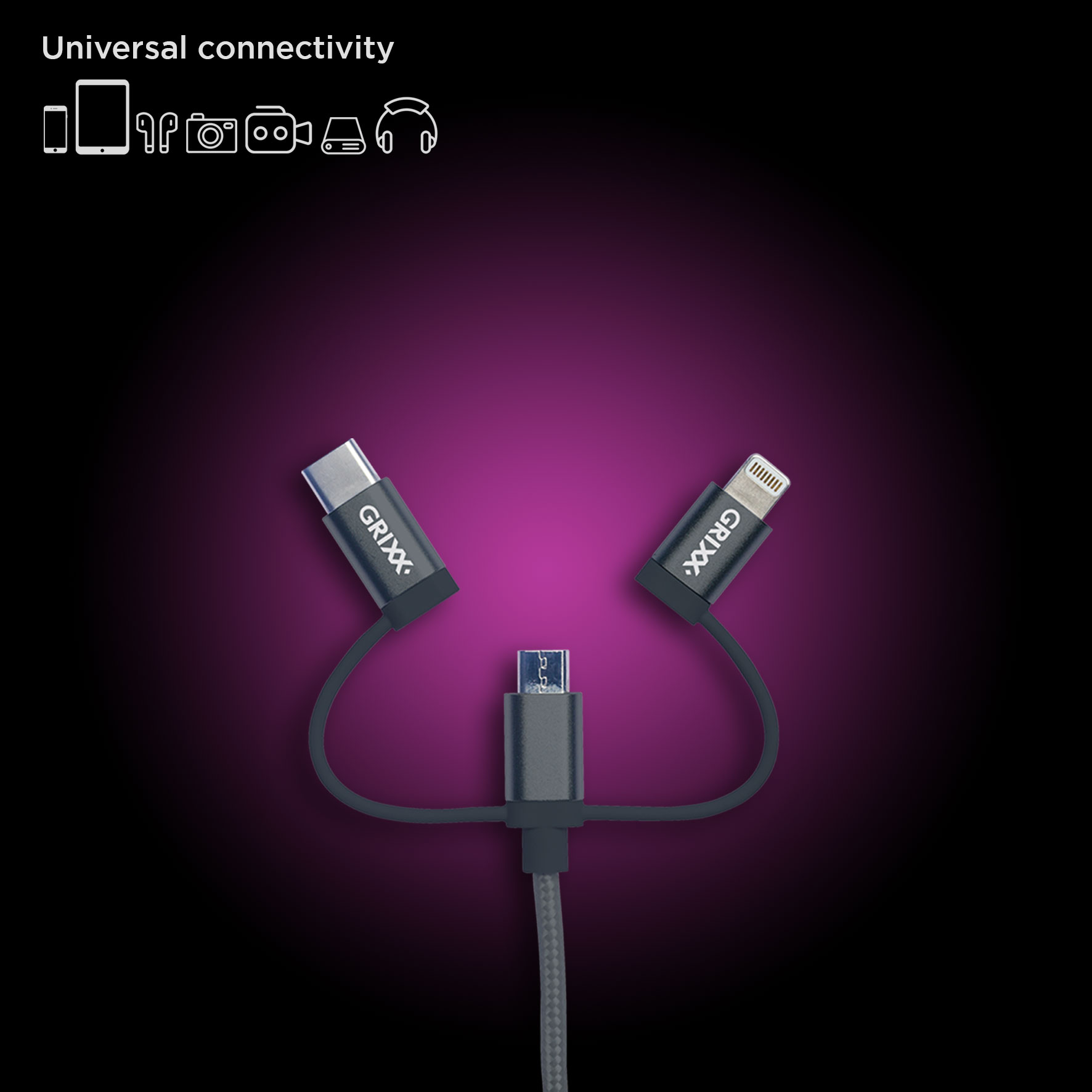 3-in-1 Cable